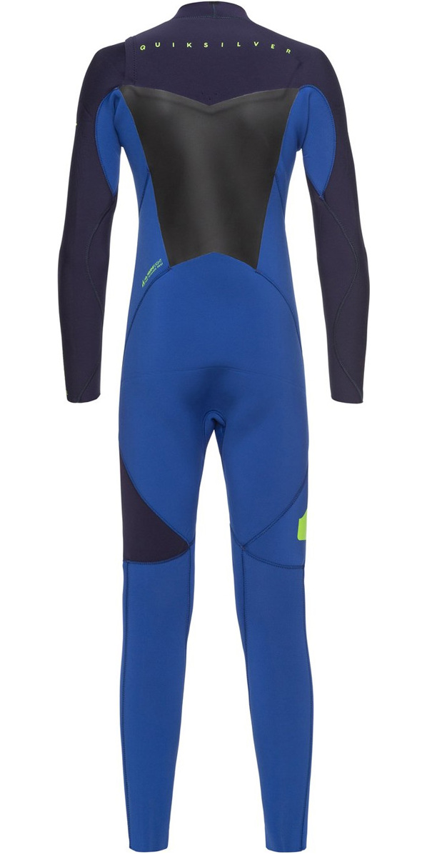 Quiksilver Boys Syncro 3/2mm Chest Zip Wetsuit Nite Blue / Blue Ribbon EQBW103019