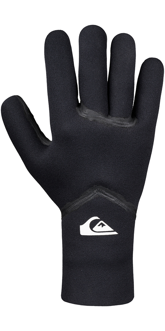 2019 Quiksilver Syncro + 3mm Neoprene Gloves Black EQYHN03057