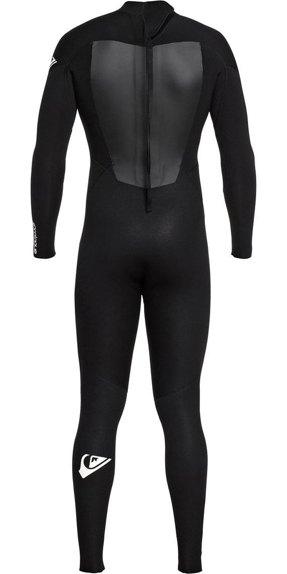 2019 Quiksilver Prologue 3/2mm Back Zip FL Wetsuit Black EQYW103068