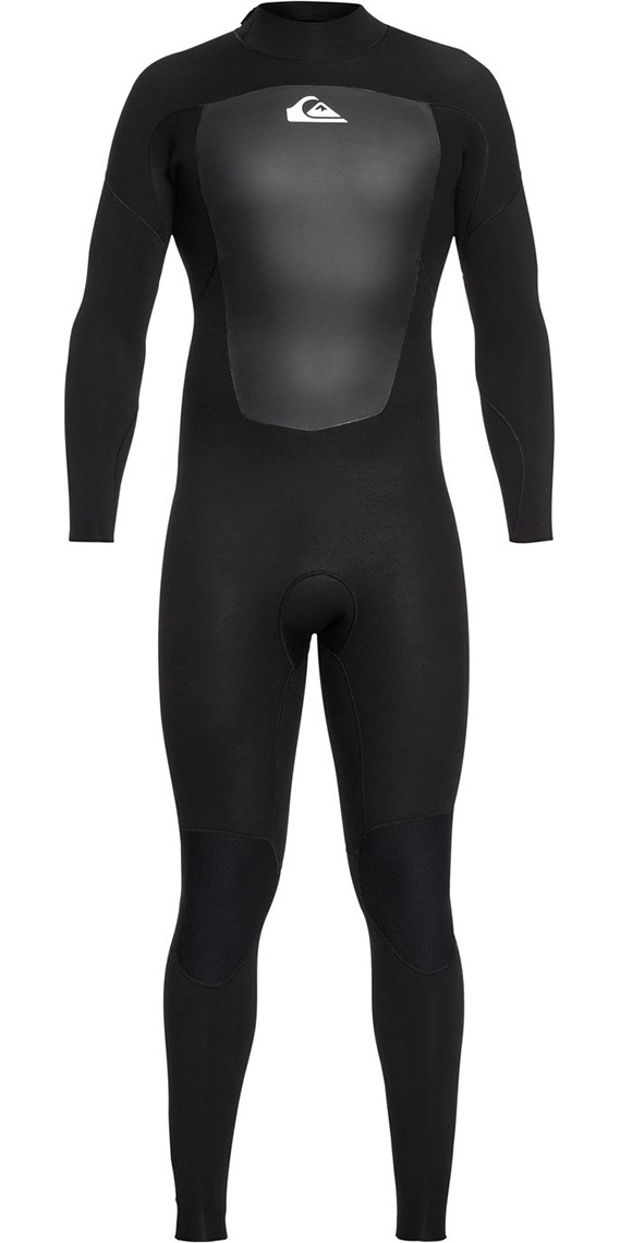 2019 Quiksilver Prologue 4/3mm Back Zip Wetsuit Black EQYW103067