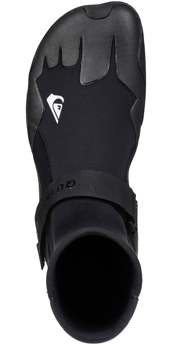 2019 Quiksilver Syncro 3mm Round Toe Boot Black EQYWW03009