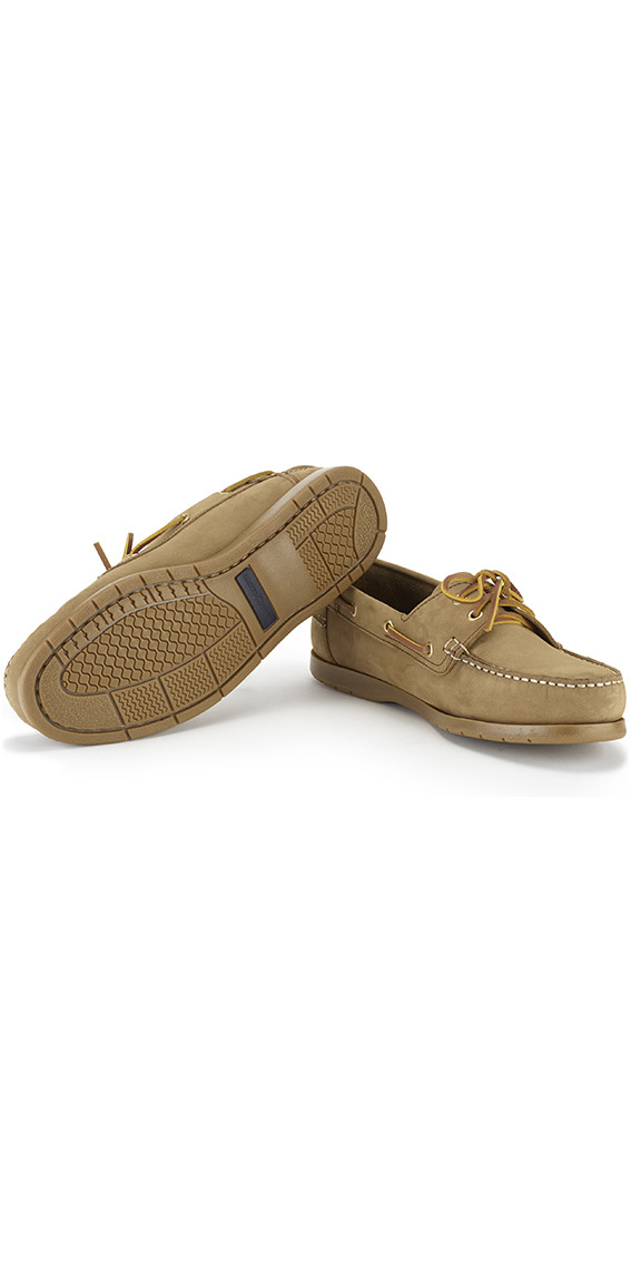2018 Henri Lloyd Arkansa Deck Shoe Brown Nubuck / Caramel F94412