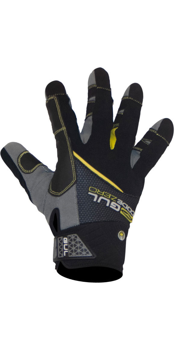 2020 Gul CZ Summer Full Finger Glove Black GL1239-B6