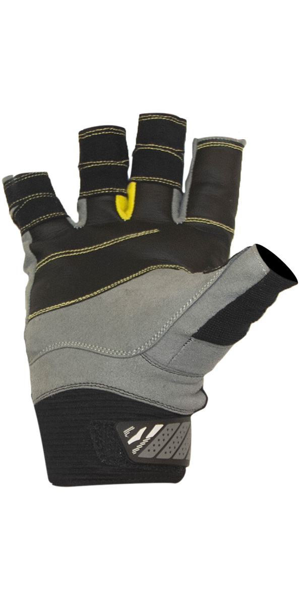 2020 Gul Junior CZ Summer Short Finger Glove Black GL1243-B6
