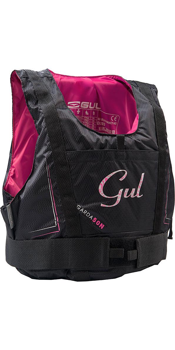 2019 Gul Junior Garda 50N Buoyancy Aid BLACK / PINK GM0162