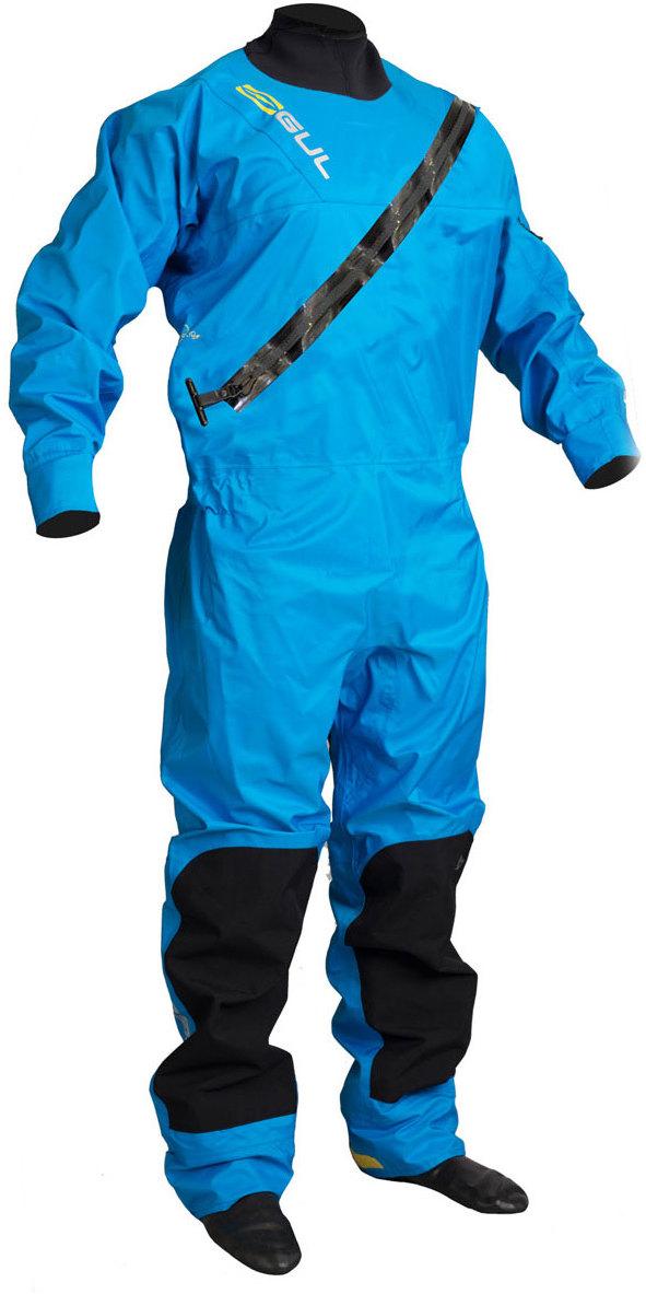 2019 GUL Junior Dartmouth Eclip Zip Drysuit Blue GM0378-B5