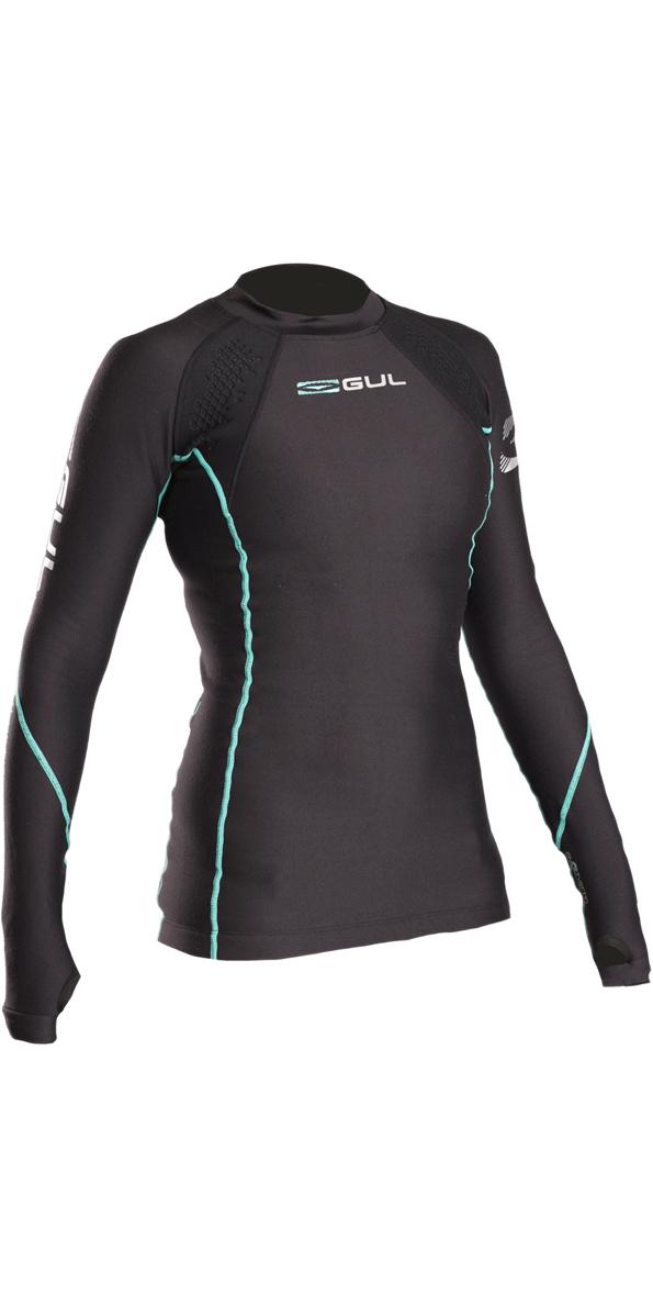 2019 GUL Evotherm Womens FL Thermal Long Sleeve Top BLACK EV0050-B3