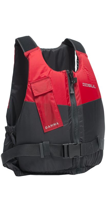 2019 GUL Junior Gamma 50N Buoyancy Aid GREY / RED GM0380-A9