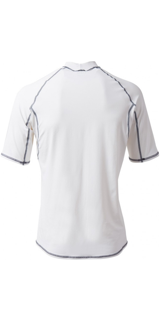 2019 Gill Pro Short Sleeve Rash Vest WHITE 4431