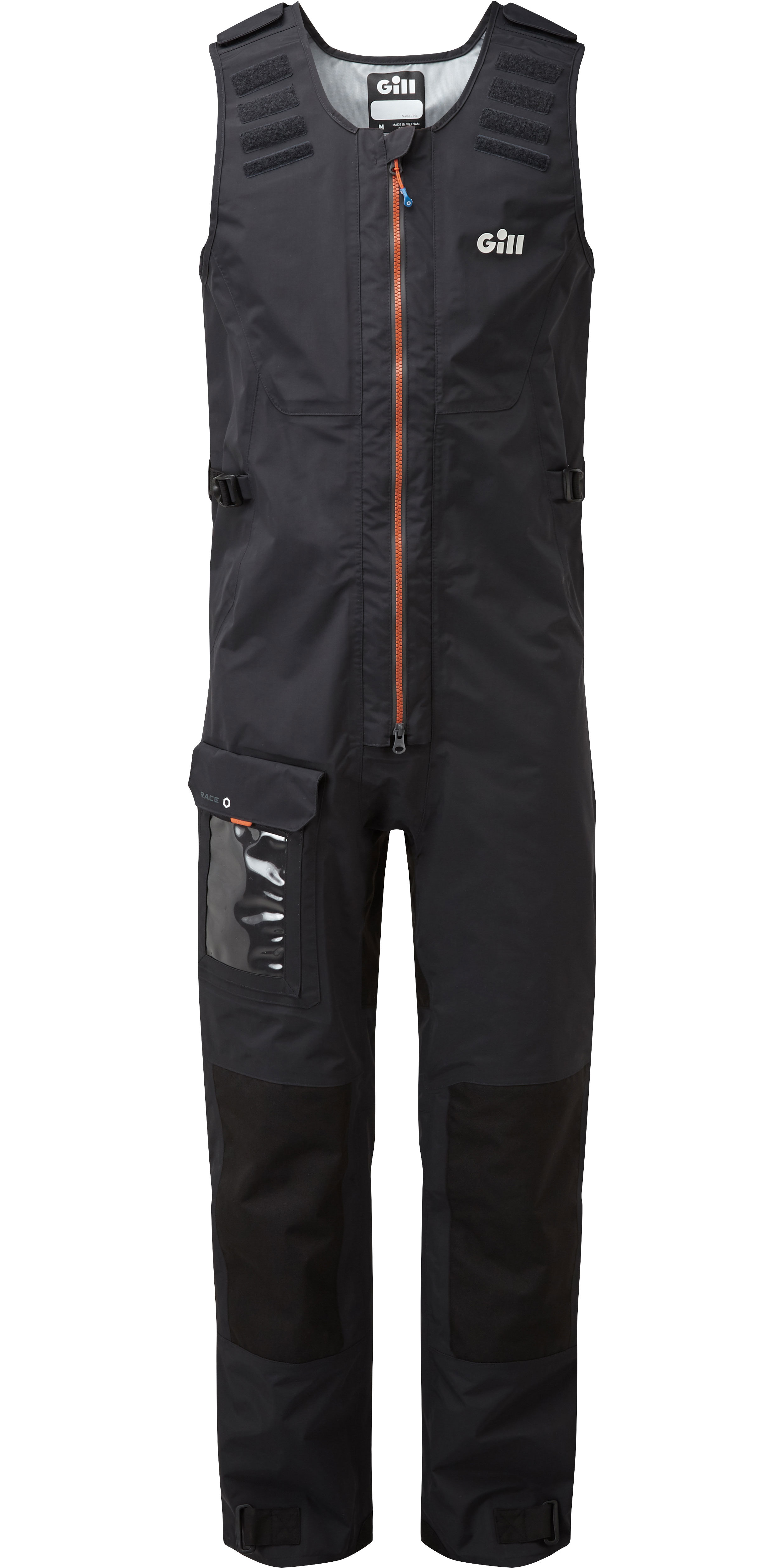 2020 Gill Mens Race Fusion Smock RS24 & Salopettes RS25 Black