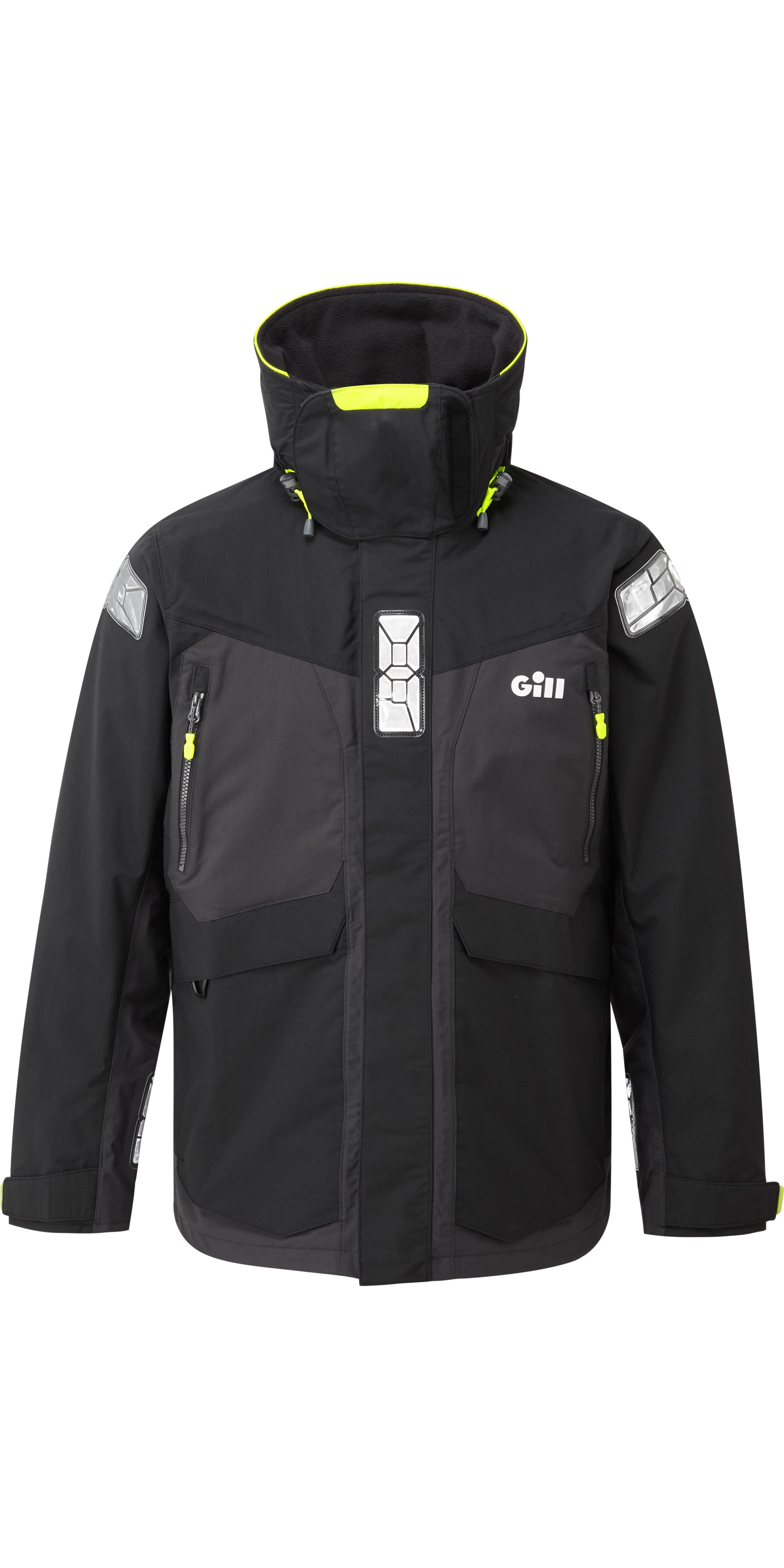 1f673dc7b 2019 Gill OS2 Mens Offshore Jacket Black OS24J
