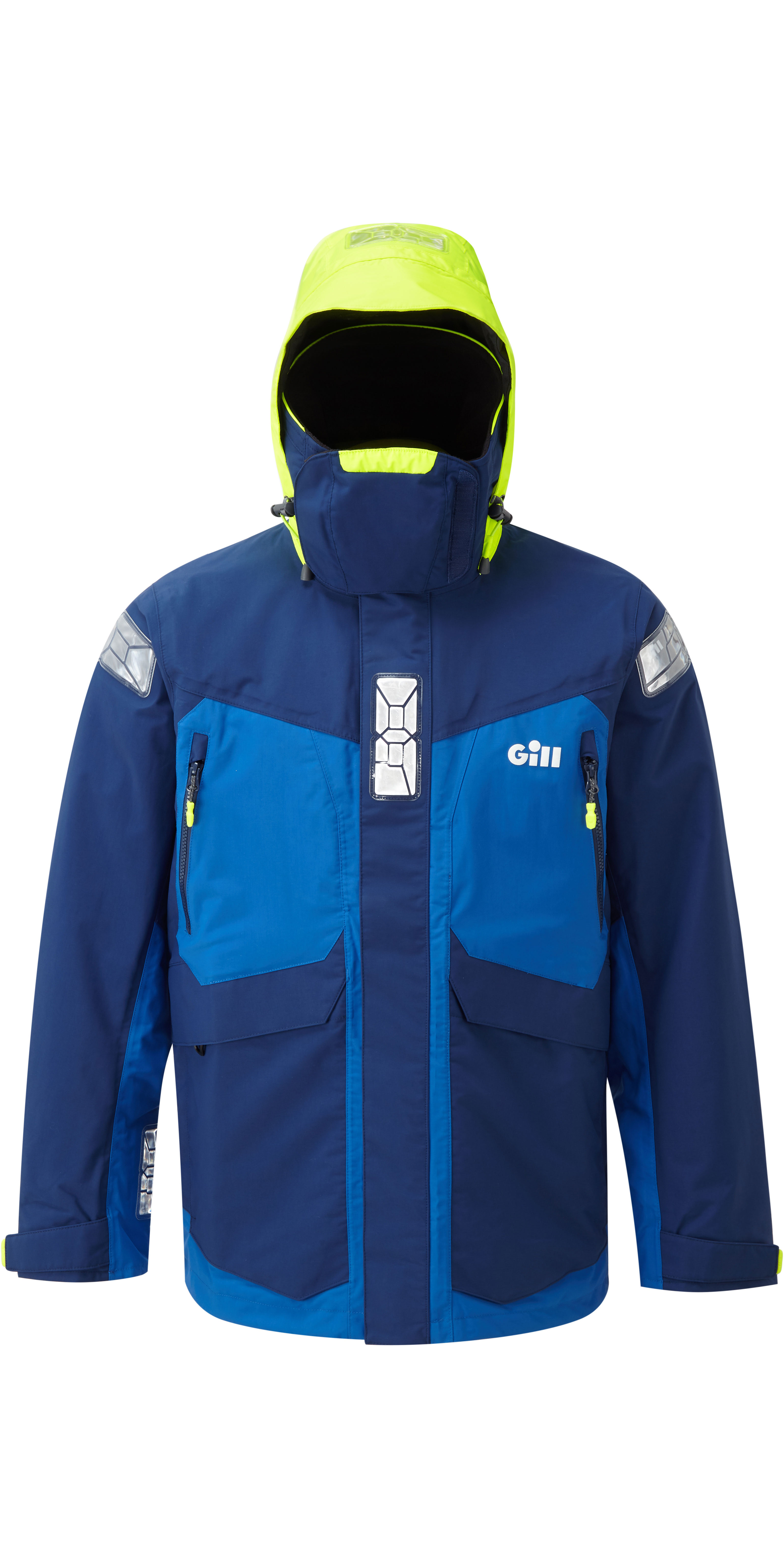 2020 Gill OS2 Mens Offshore Jacket Blue OS24J