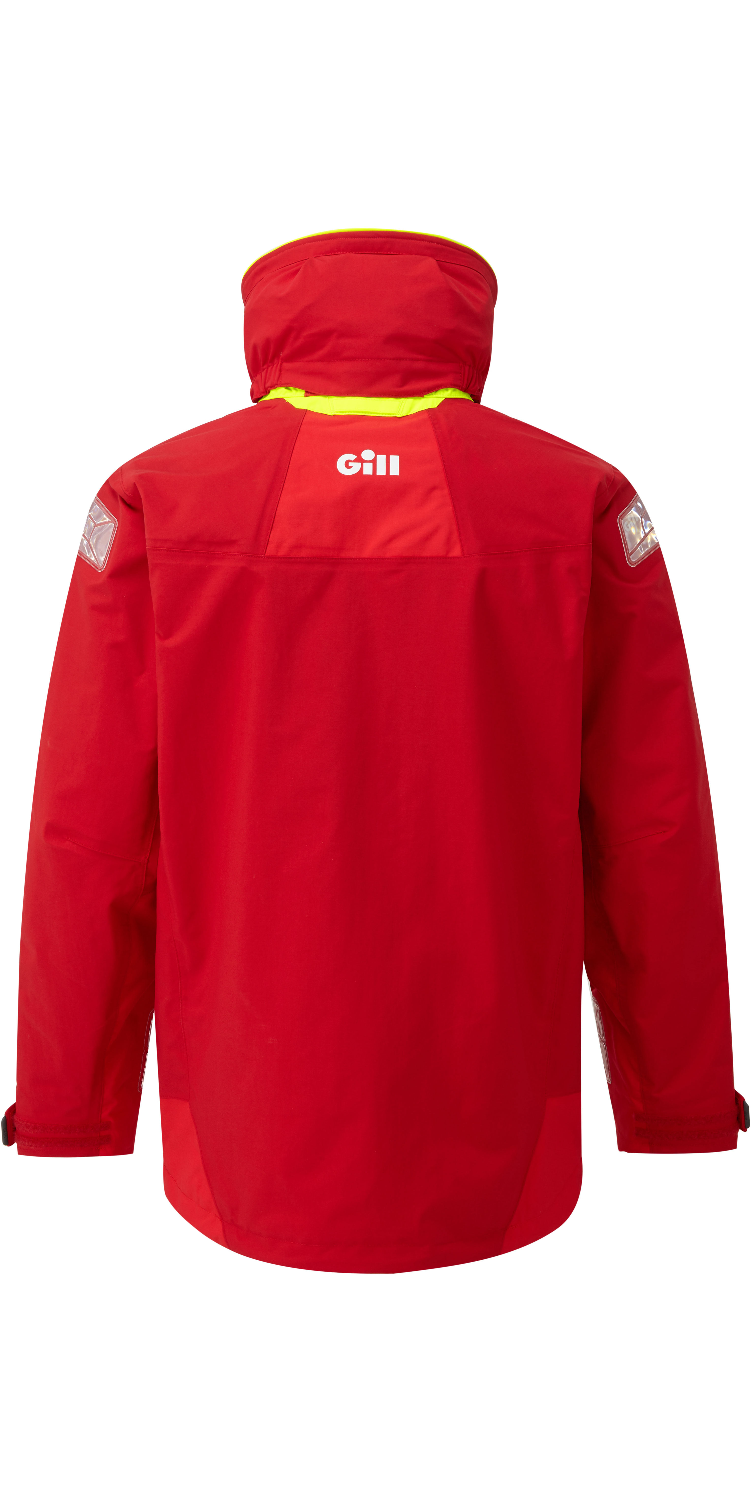 2020 Gill OS2 Mens Offshore Jacket Red OS24J