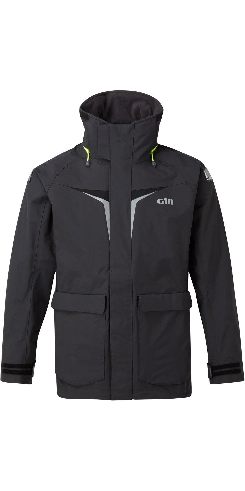 2020 Gill OS3 Mens Coastal Jacket GRAPHITE OS31J