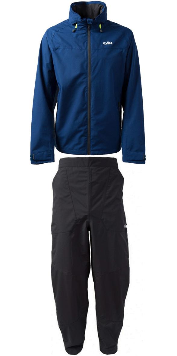 2019 Gill Mens Pilot Jacket IN81J & Trouser IN81T Combi Set Dark Blue / Graphite