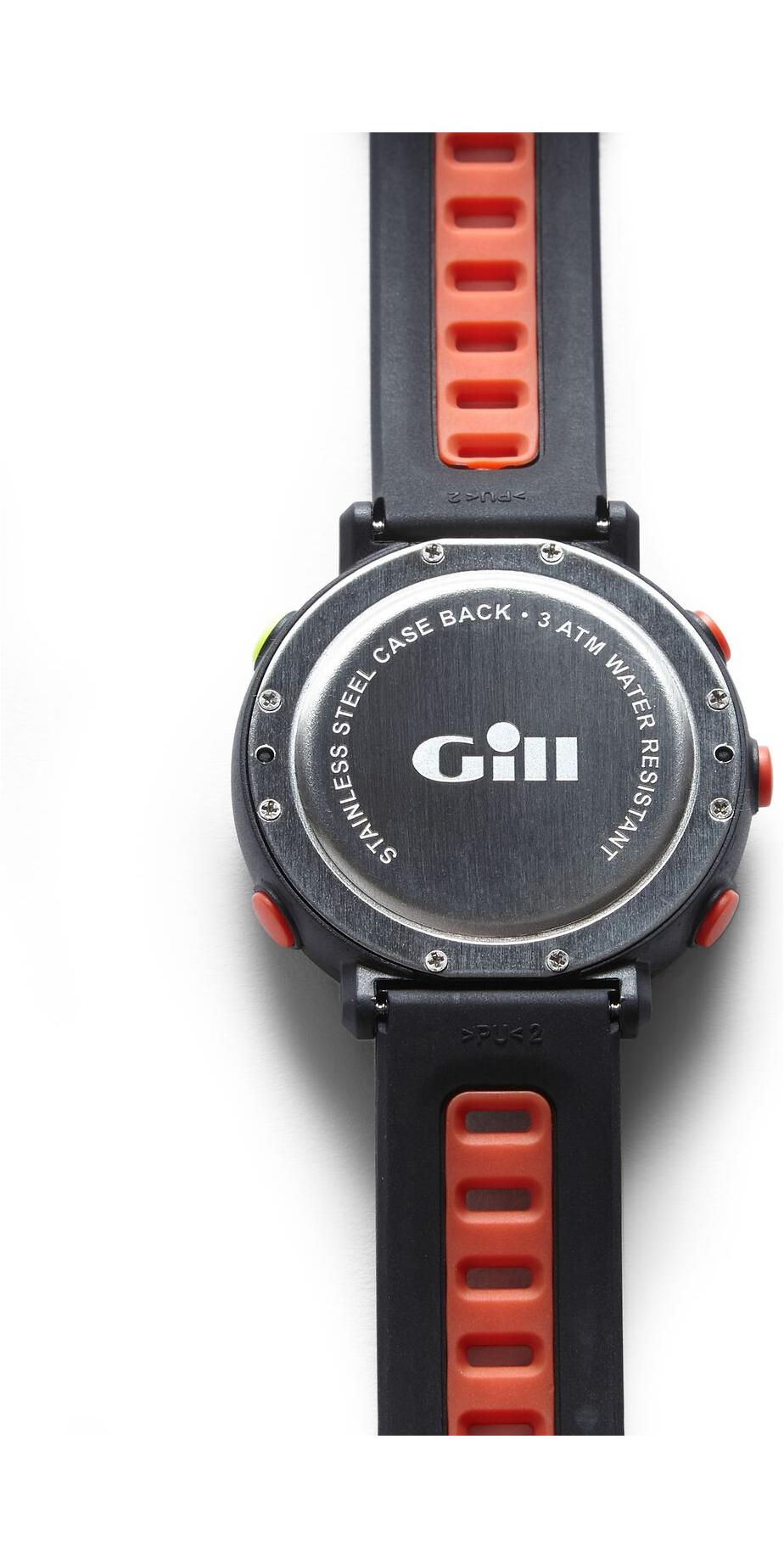 2019 Gill Race Watch Timer Graphite / Tango W013