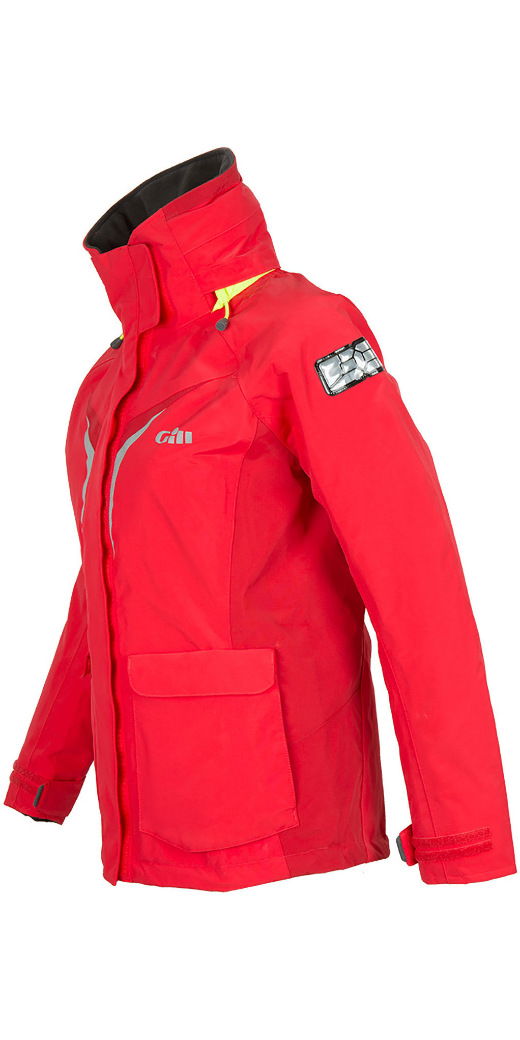 2020 Gill OS3 Womens Coastal Jacket & Trouser Combi Set - Bright Red / Graphite