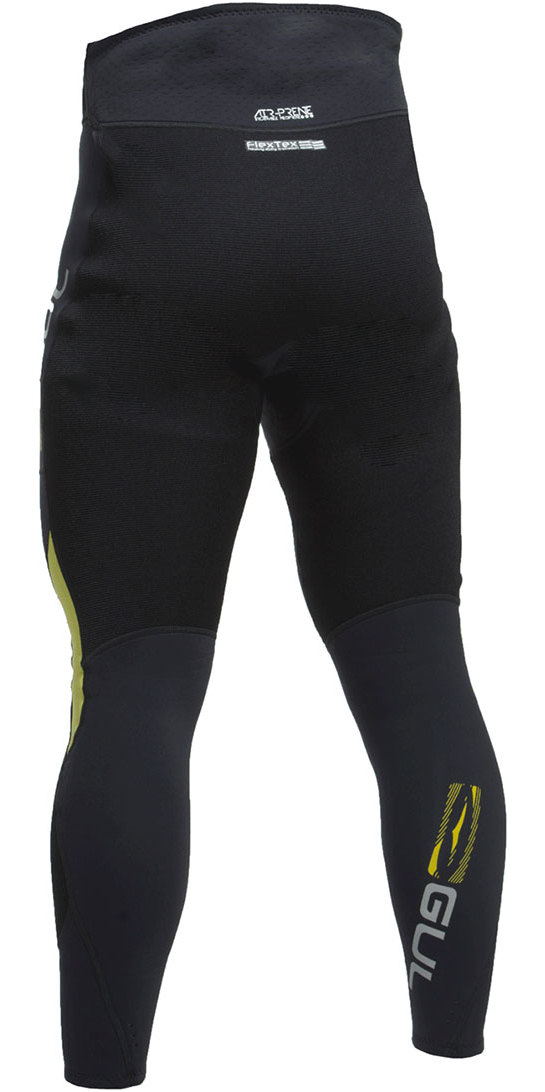 2019 Gul Code Zero 3mm Flatlock Neoprene Trousers Black CZ8303-B2