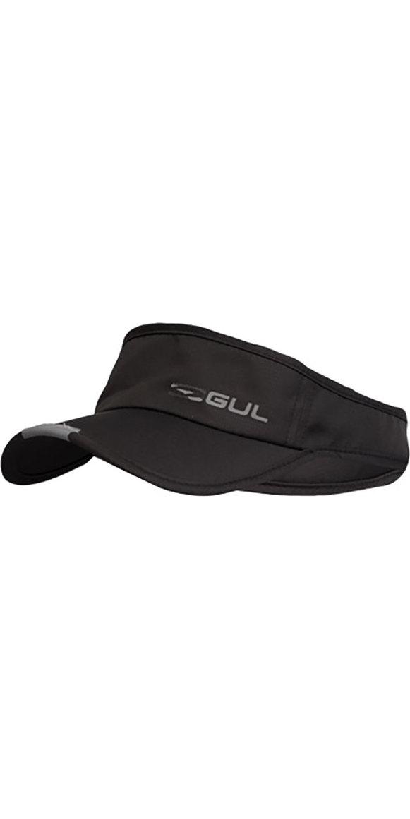 2018 Gul Code Zero Race Visor Black AC0121-B4