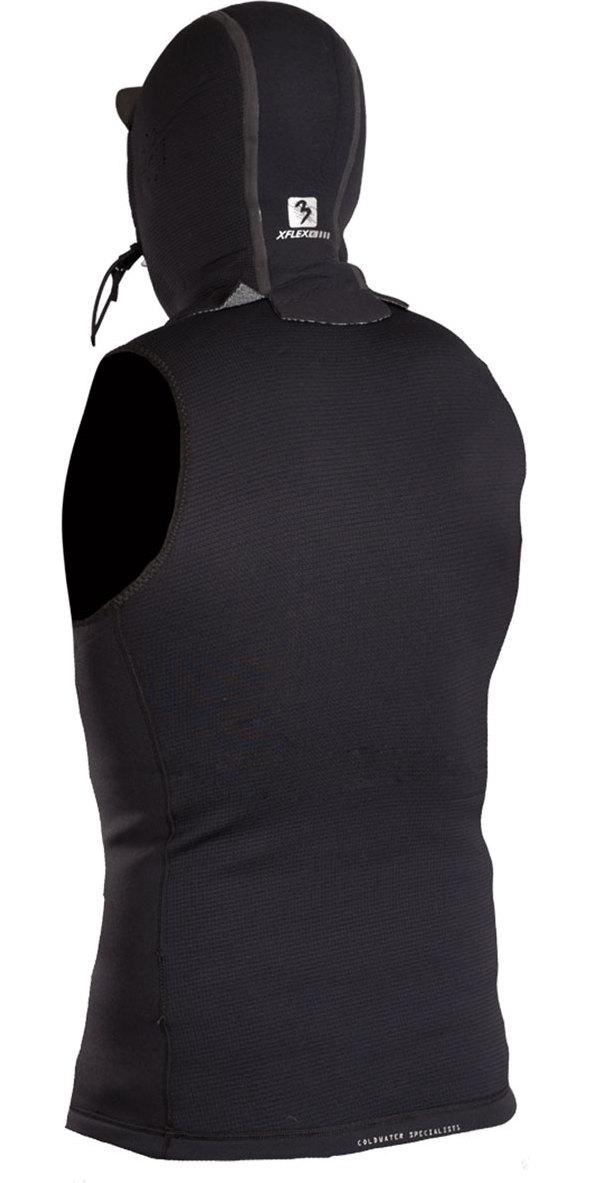 2019 Gul Flexor 0.5mm Hooded Neoprene Vest Black FX7301-A9