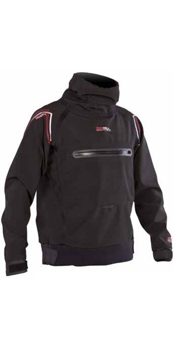 Gul Junior Code Zero Hydro Softshell Spray Top Black ST0026