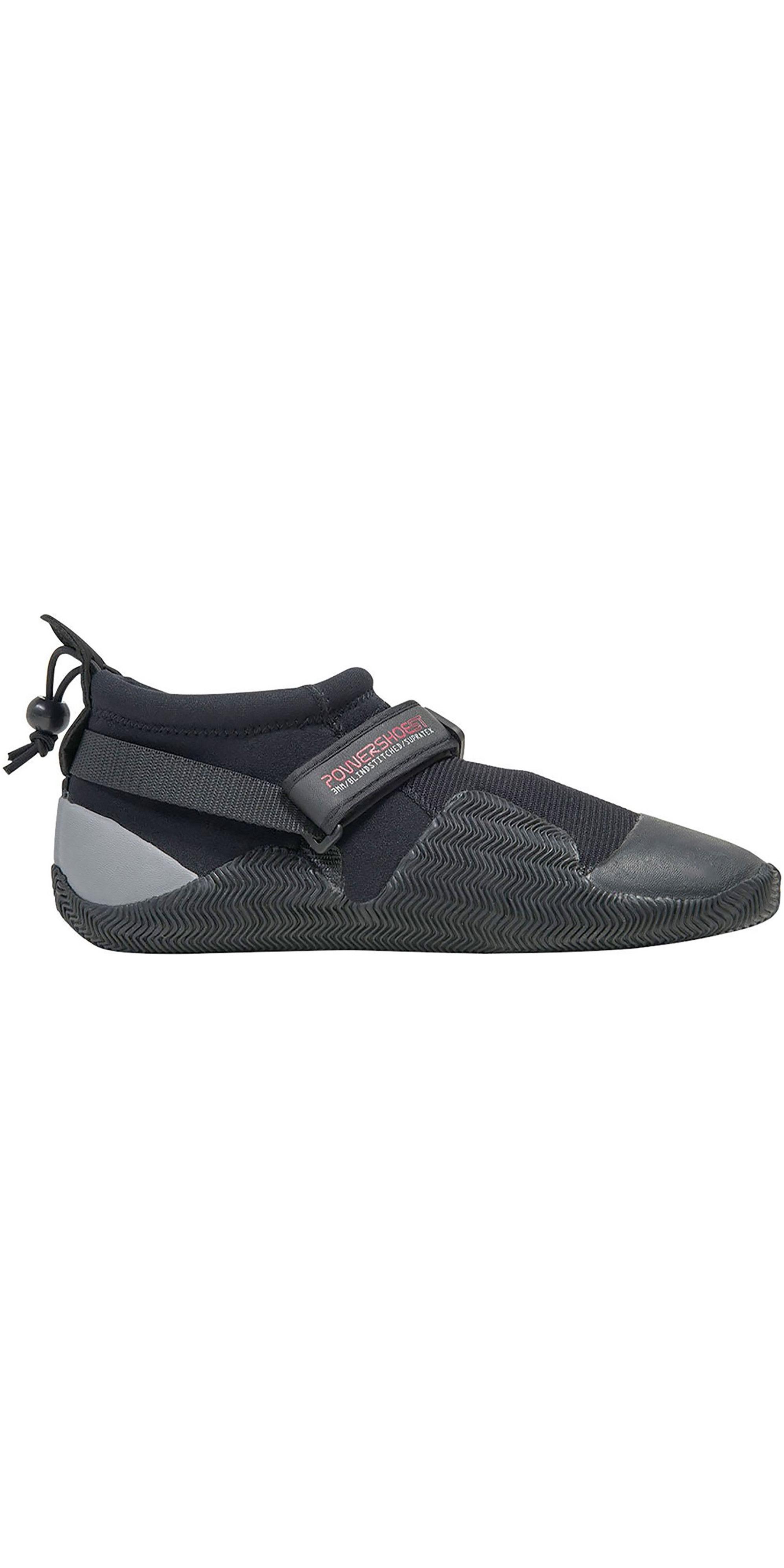 2019 Gul Strapped Slipper 3mm Titanium Shoe BLACK / GREY BO1265-A8