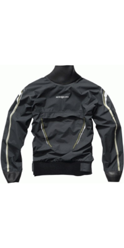 Henri Lloyd TP1 Stealth Semi Dry Top. CARBON. Y00123.