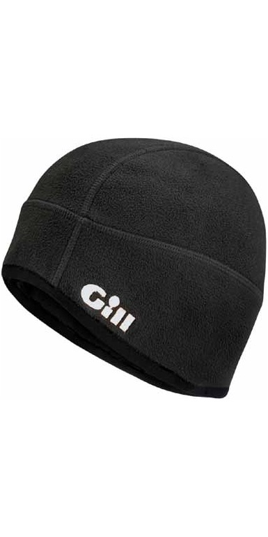 2018 Gill Windproof Fleece Hat BLACK HT8