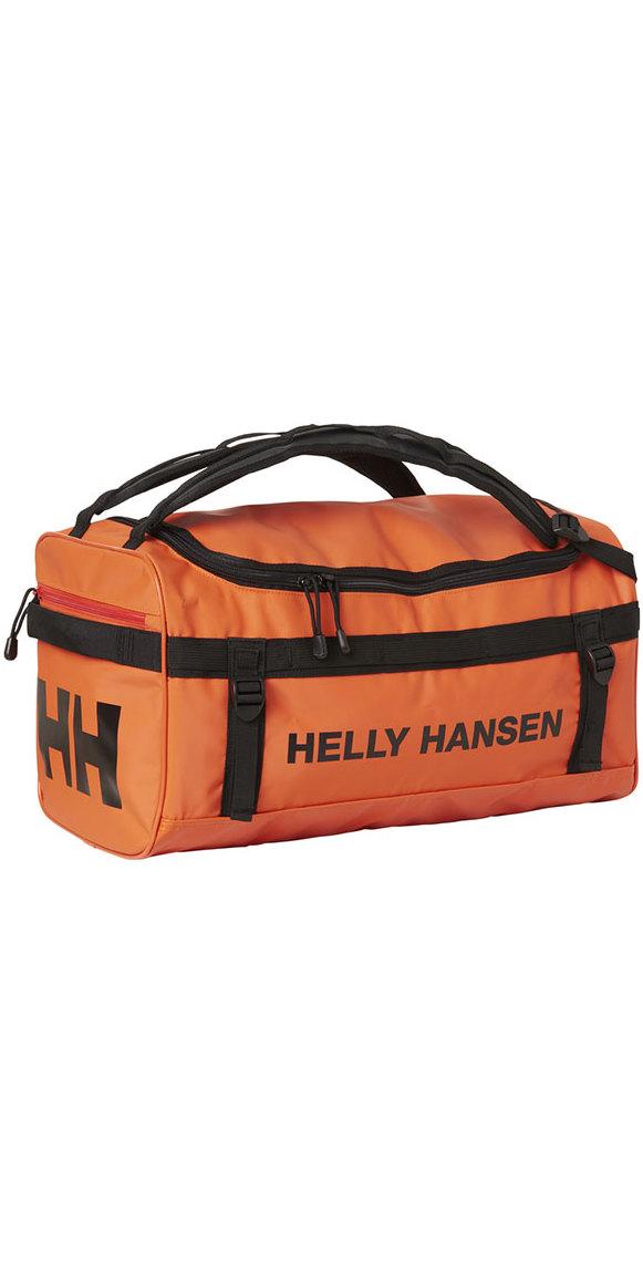 db10647033 2018 Helly Hansen 30L Classic Duffel Bag 2 0 Xs Spray Orange 67166 -  Holdall - Luggage