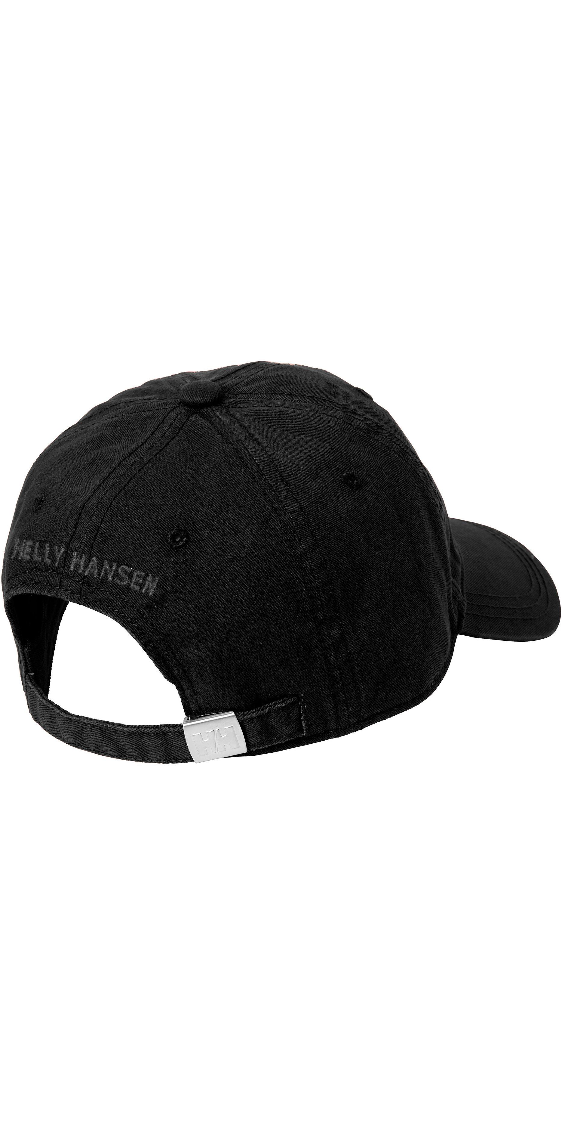 2019 Helly Hansen Logo Cap Black 38791