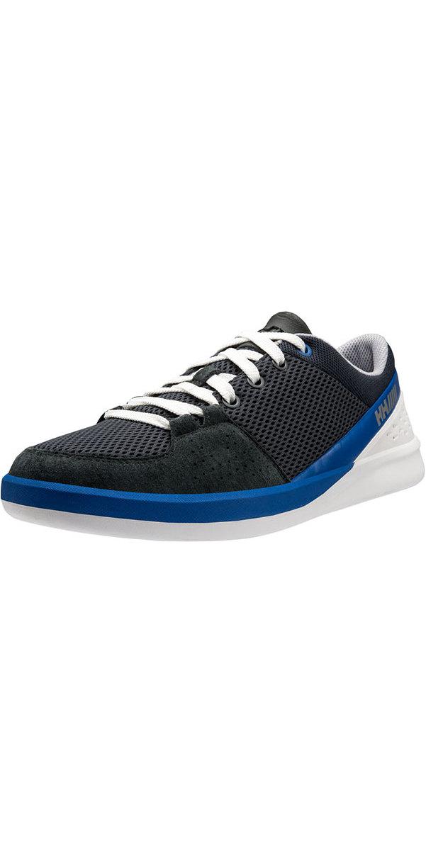 1022c7c6079b8 Helly Hansen HH 5.5 M Performance Sailing Shoes Ebony / Classic Blue 11129