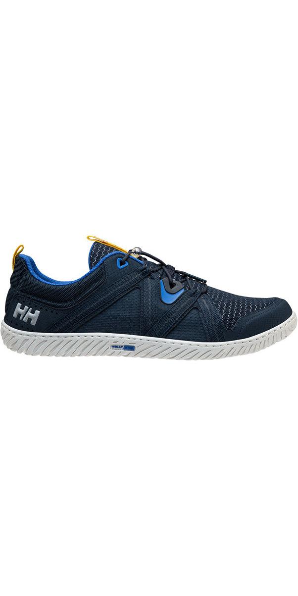 2019 Helly Hansen HP Foil F-1 Sailing Shoe Navy / Olympian Blue 11315