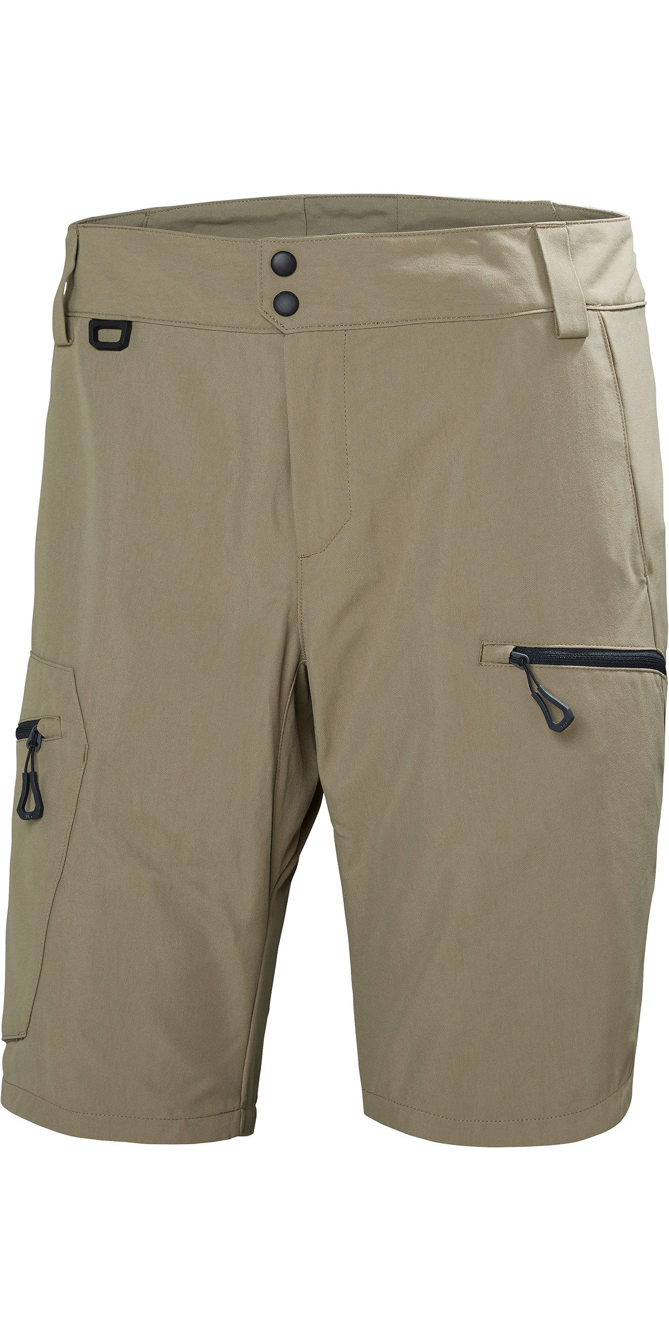 c9a11062f8 2019 Helly Hansen Mens Crewline Cargo Shorts Fallen Rock 33937 - Technical  Sailing Shorts | Wetsuit Outlet