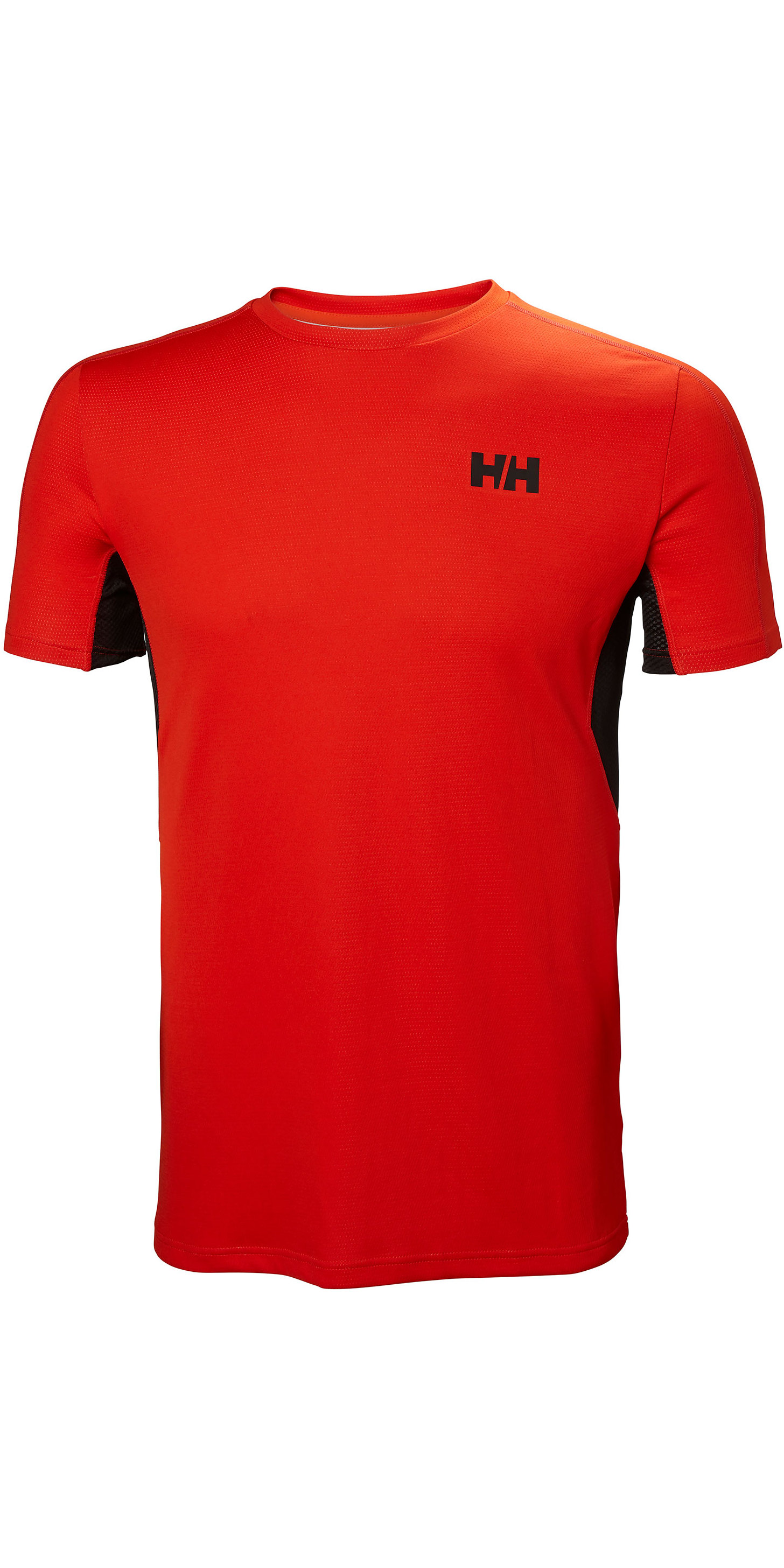 dcd2c1b53e 2019 Helly Hansen Mens Lifa Active Mesh T-shirt Cherry Tomato 49319 - Thermal  Base Layer | Wetsuit Outlet