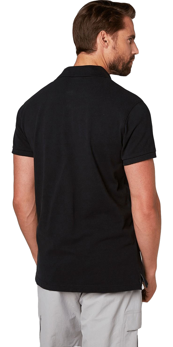 2019 Helly Hansen Transat Polo Shirt Black 33980