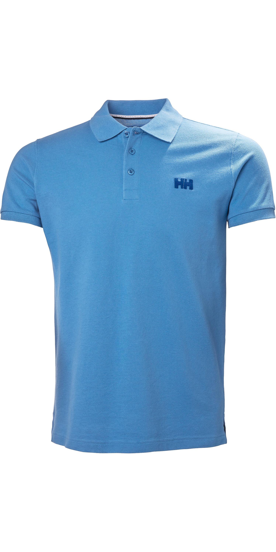 b5ea44c489 2019 Helly Hansen Transat Polo Shirt Cornflower Blue 33980 - Polo Shirts -  Shore Wear - Sailing | Wetsuit Outlet