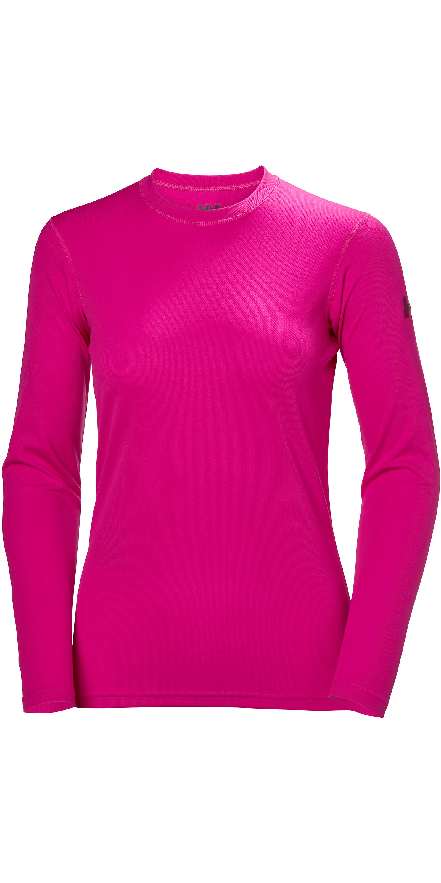 0d2826baba367d 2019 Helly Hansen Womens Tech Crew Long Sleeve Base Layer Dragon Fruit  48374 - Thermal Base | Wetsuit Outlet