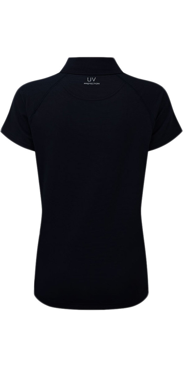 2018 Henri Lloyd Ladies Fast Dry Polo T-shirt in Black ...