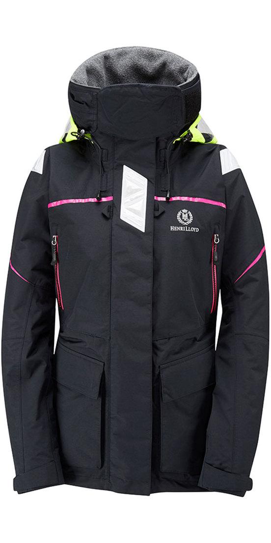 2019 Henri Lloyd Womens Freedom Offshore Jacket Black Y00352