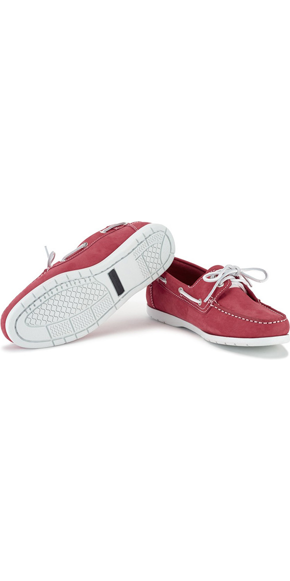 2018 Henri Lloyd Ladies Shore Deck Shoe Red / White F94425