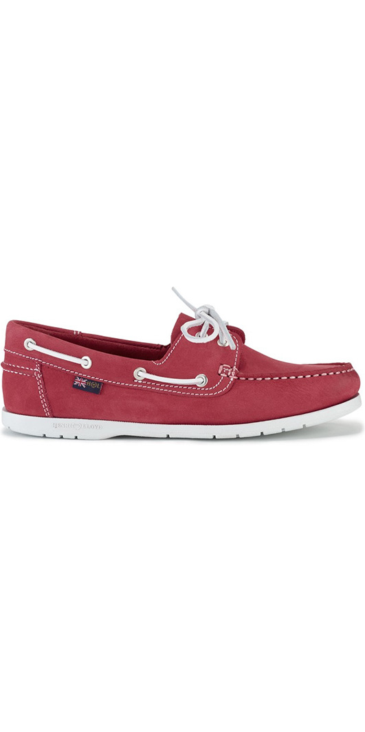 2018 Henri Lloyd Womens Shore Deck Shoe Red / White F94425