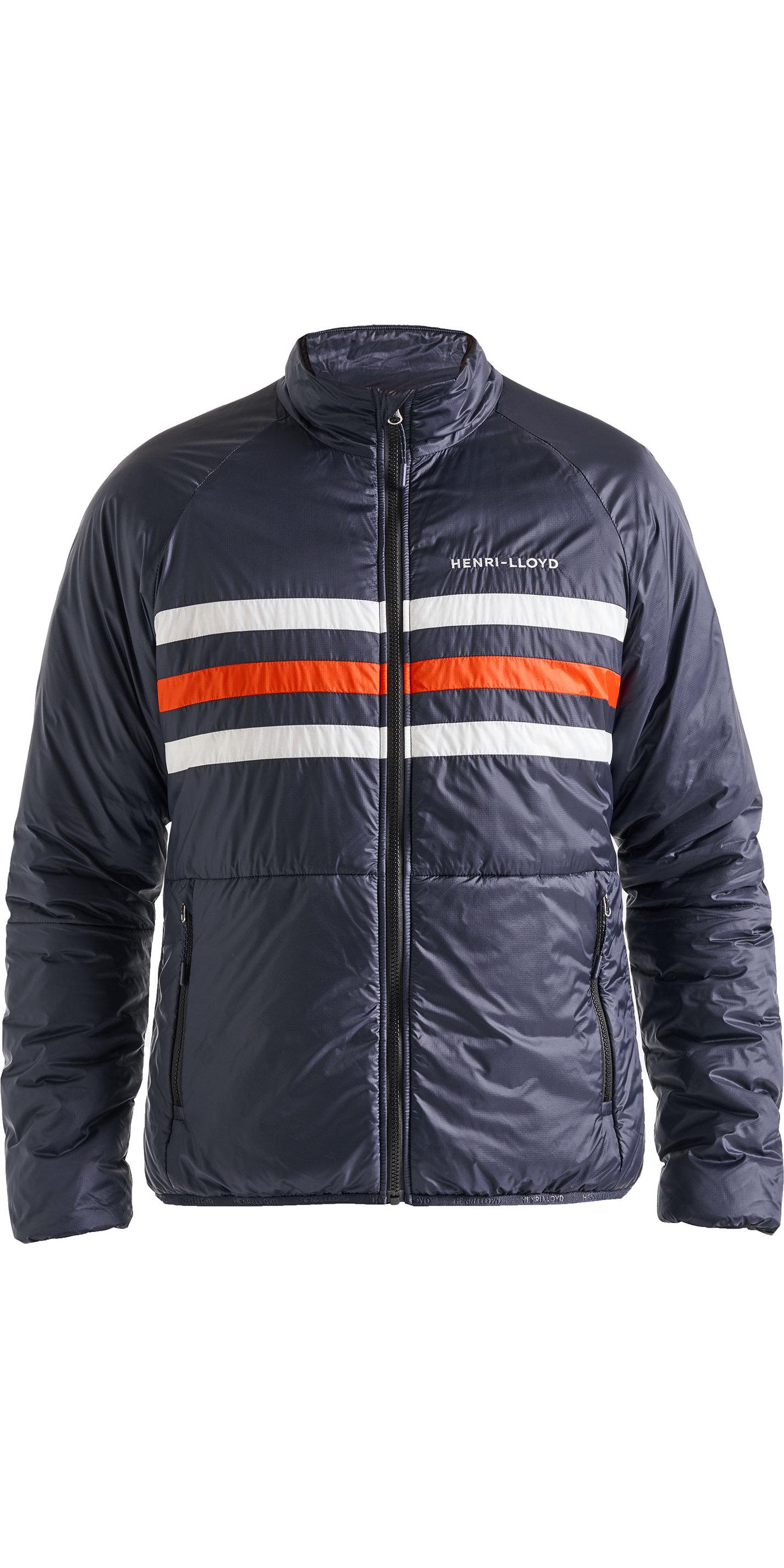 classic the best attitude cheap 2019 Henri Lloyd Mens Fremantle Stripe Liner Jacket Navy Blue P191101005