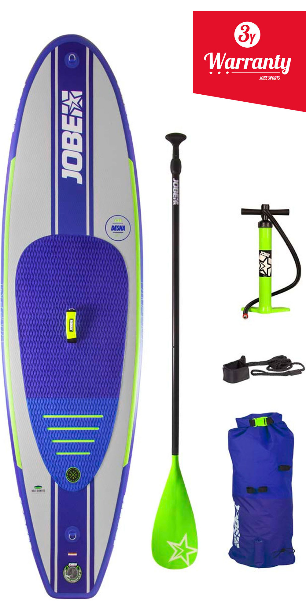 004db48f6282 2019 Jobe Desna Inflatable Stand Up Paddle Board 100 X 32 Inc Paddle ...