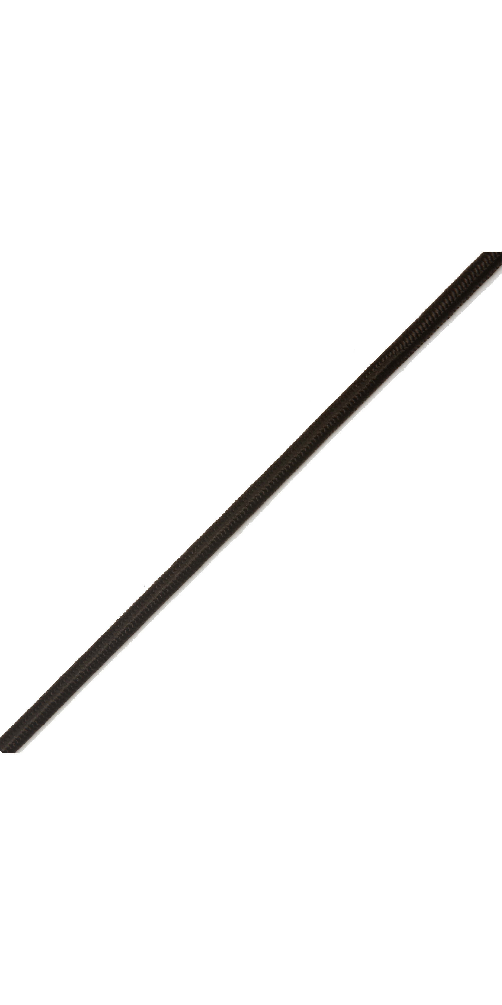 Kingfisher General Purpose Shockcord Black SK0X1 - Price per metre