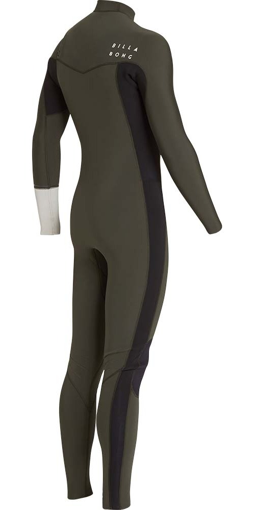 Billabong Furnace Revolution 3/2mm Chest Zip Wetsuit Dark Olive L43M06