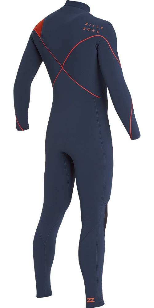 2019 Billabong Mens Furnace Carbon Comp 3/2mm Chest Zip Wetsuit Slate L43M26