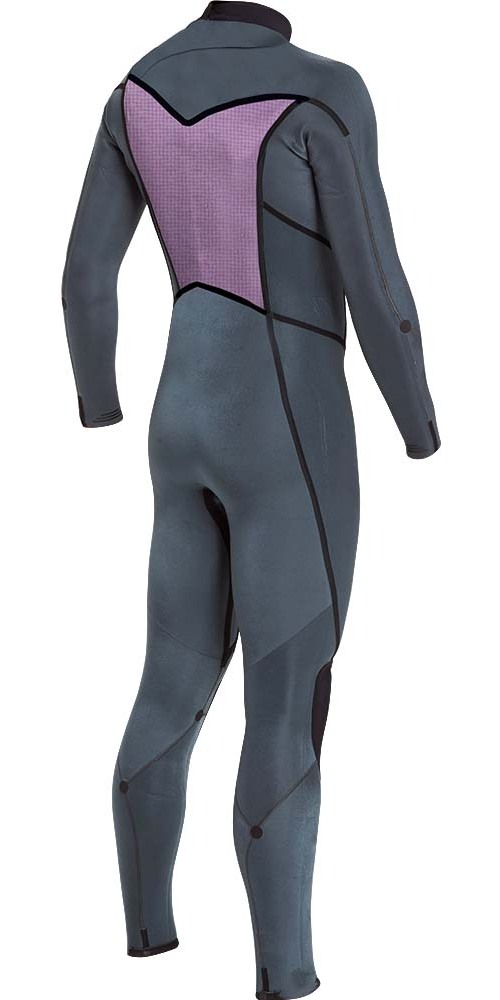 2018 Billabong Furnace Absolute X 3/2mm Chest Zip Wetsuit Slate L43M27