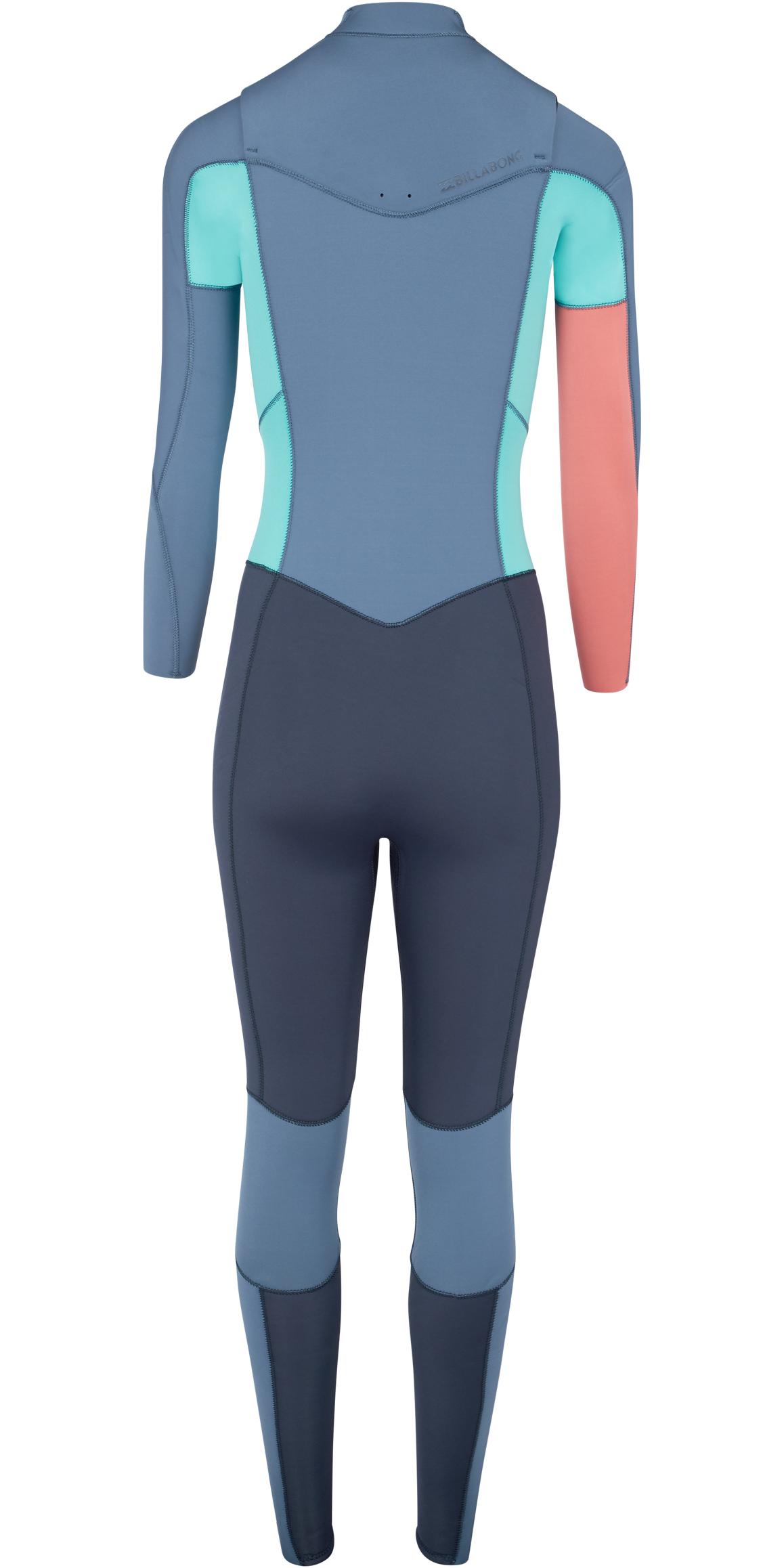 2019 Billabong Womens Furnace Synergy 5/4mm Chest Zip Wetsuit Slate L45G03