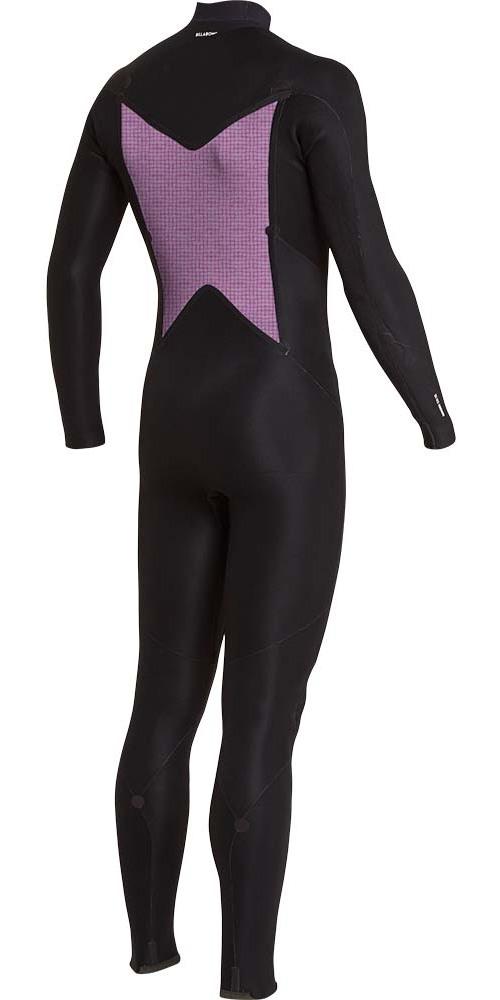 2018 Billabong Furnace Absolute 5/4mm Chest Zip Wetsuit Slate L45M09