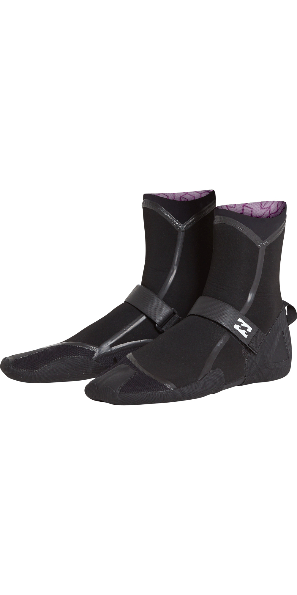 2018 Billabong Furnace Carbon Ultra 7mm Split Toe Boots Black L4BT20
